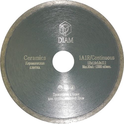 DIAM Ceramics 000203 алмазный круг для керамики 230x1,9x5,0x22,23 Diam По керамике Алмазные диски