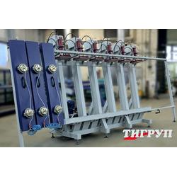 Пресс гидравлический для склеивания бруса Эльбрус 2Г Тигруп Сращивание по длине Столярные станки