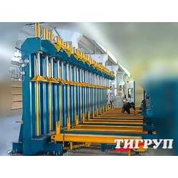 Гидравлический пресс МегаБрус-Макси-350/2100 Тигруп Сращивание по длине Столярные станки