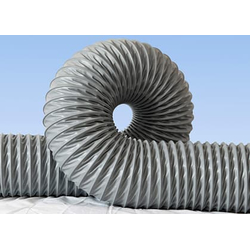 Воздуховод из ткани, покрытой ПВХ - VINI Пром воздуховоды Аспирация Столярные станки